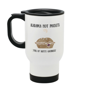 Alabama Hot Pocket Stainless Steel Travel Mug From Mary Hinge
