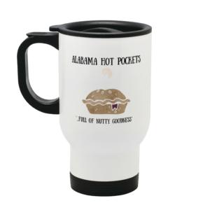 Alabama Hot Pocket Stainless Steel Travel Mug From Mary Hinge