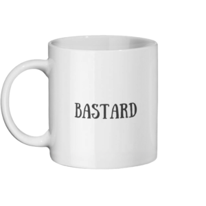 Bastard Mug Left side