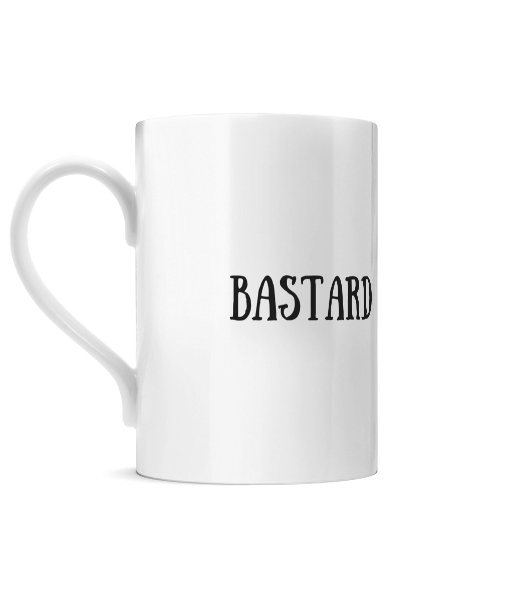 Bastard Posh Mug Left side