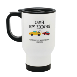 Camel Tow Stainless Steel Travel Mug Left side