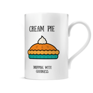 Cream Pie Posh Mug Right side