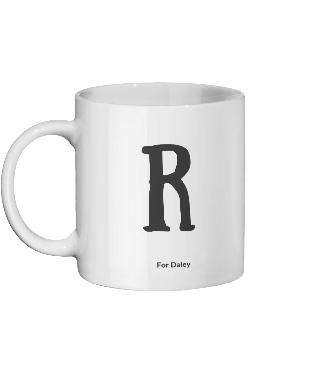 R For Daley Mug