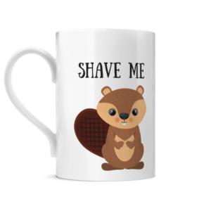 Shave Beaver Posh Mug Left side