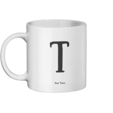 T for Two Mug Left-side