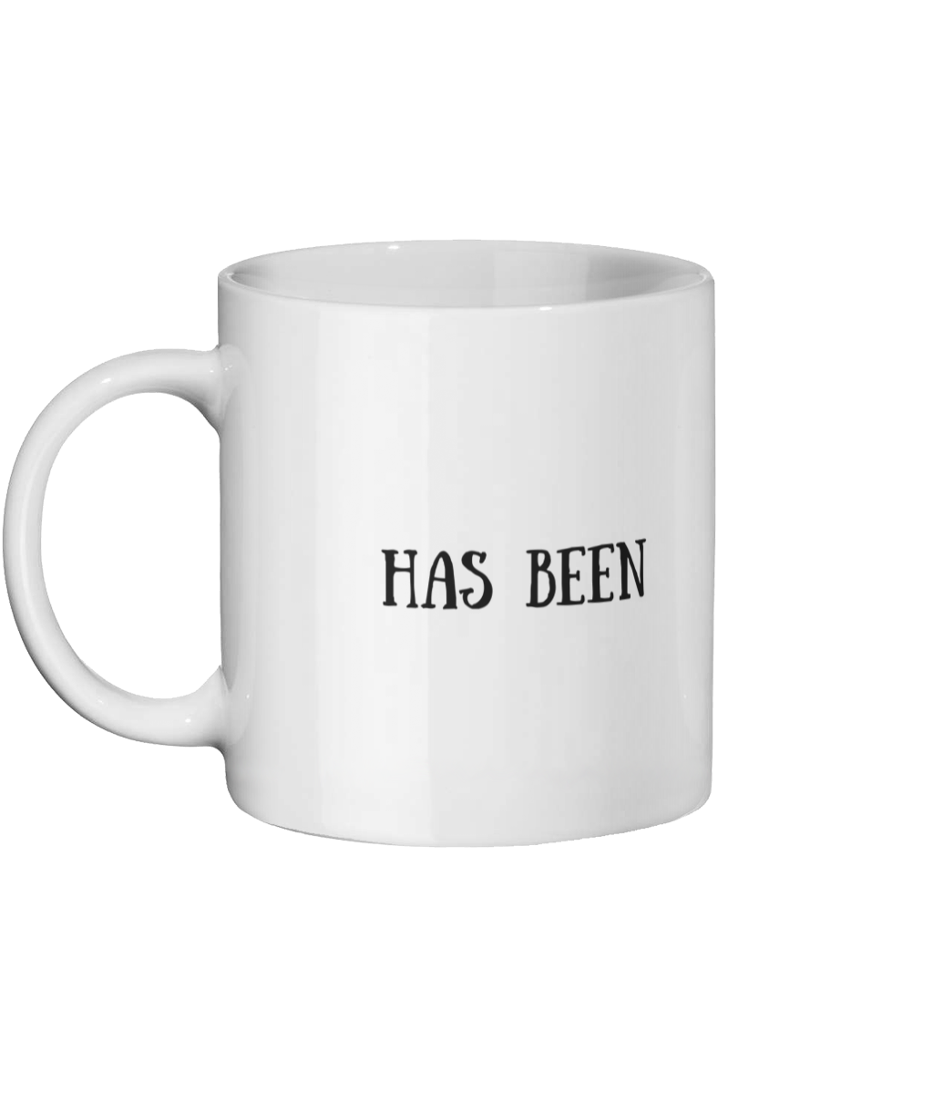 Has Been Mug Left-side