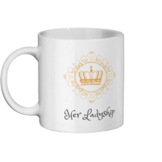 Her Ladyship Mug Left-side
