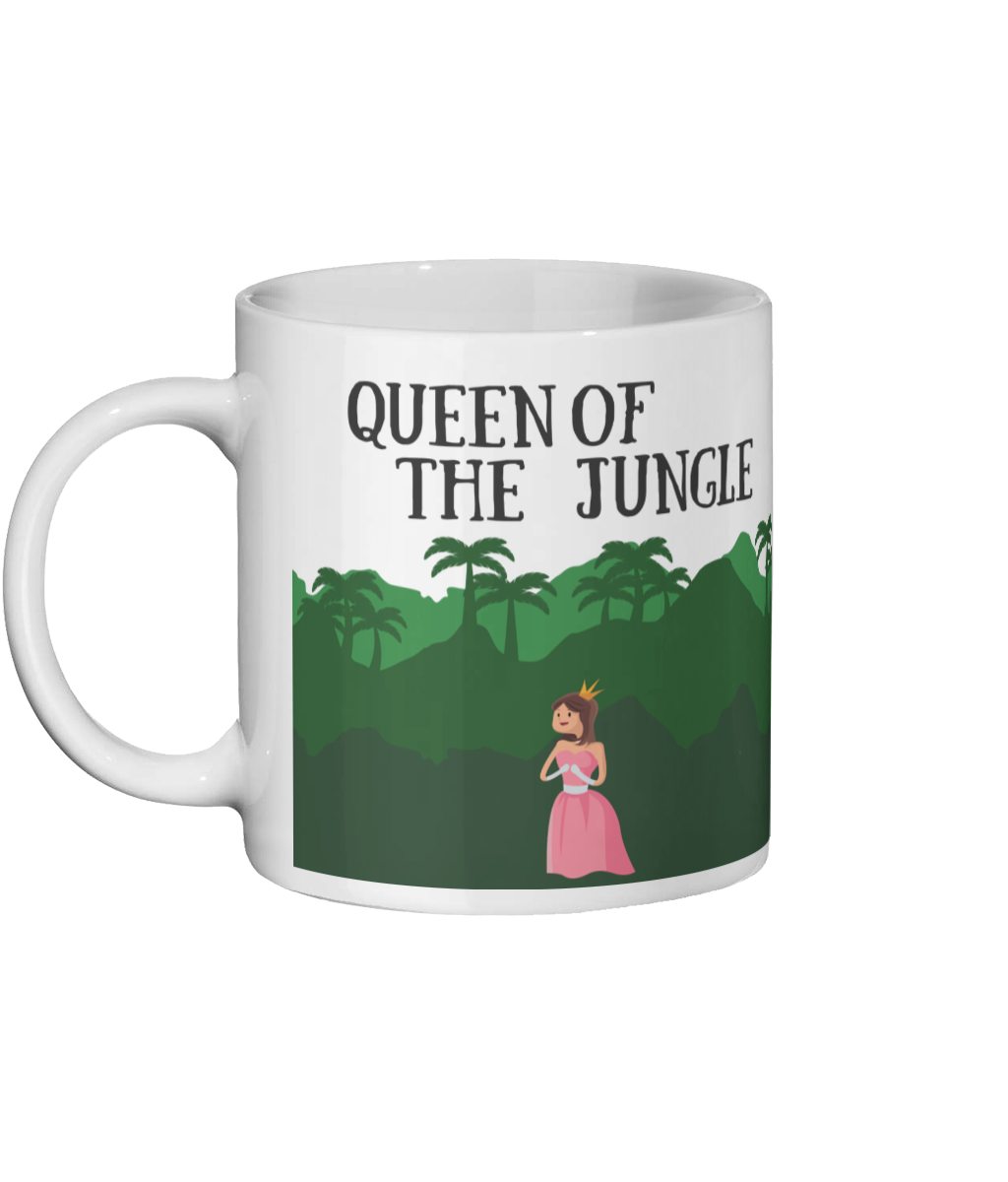 Queen Of The Jungle Mug Left-side