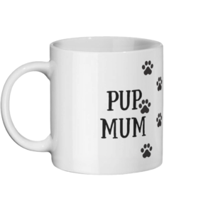Pup Mum Mug Left-side