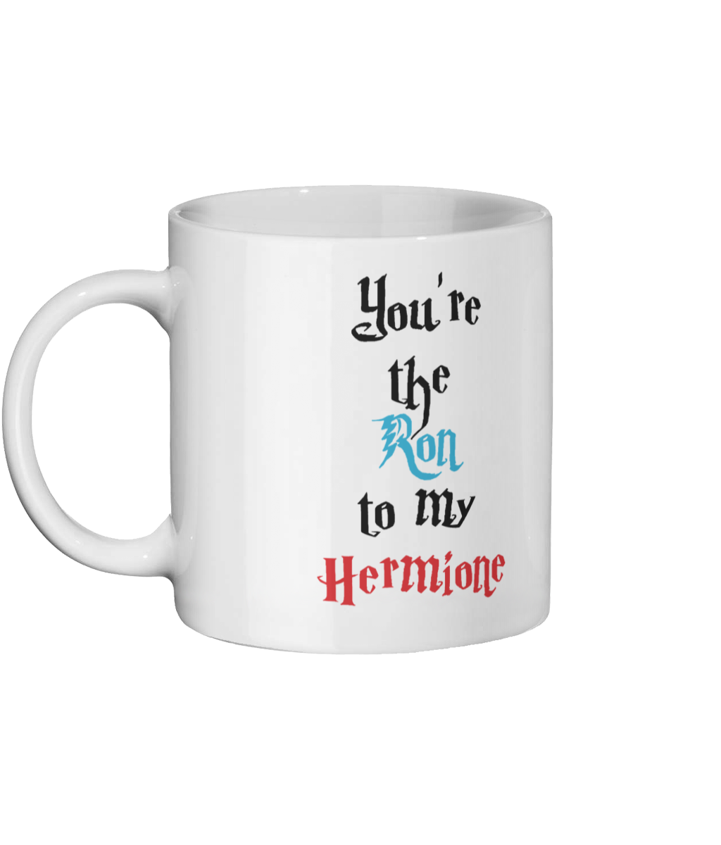 You're the Ron to my Hermione Mug Left-side
