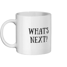 What's Next Mug Left