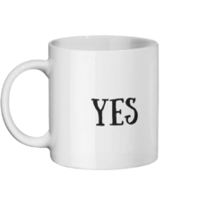 Yes No Mug Left