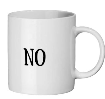 Yes No Mug Right