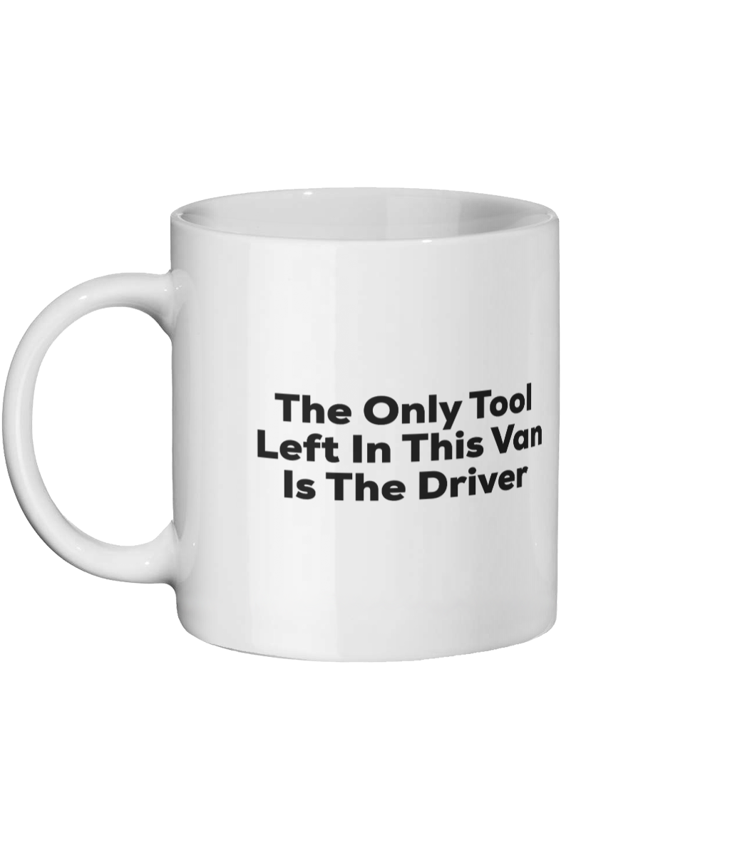 The Only Tool Left In This Van Is the Driver Mug